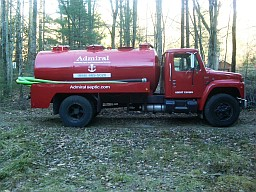 Admiral Septic Pumping Truck